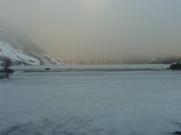 Icy Loch Skene